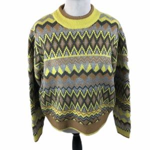 Brand New Andrew Marc Knot Sweater Size XL